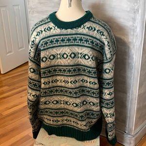 Eddie Bauer vintage wool sweater